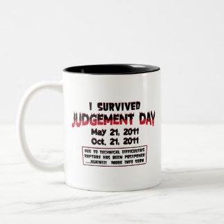 Taza de café del día del Juicio Final