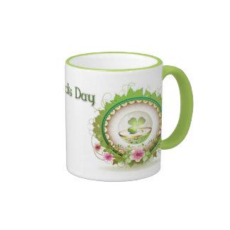 Taza de café del día del St Patricks