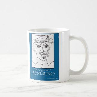 """Taza de café """"del director de pista de circo"""" por"""