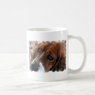 Taza de café del diseño de Basset Hound