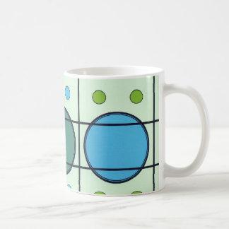 Taza de café del diseño de los mediados de siglo