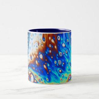 Taza de café del diseño del agua de Prisim