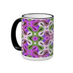 Taza de café del diseño geométrico