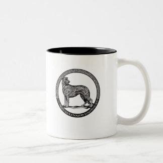 taza de café del Dos-tono