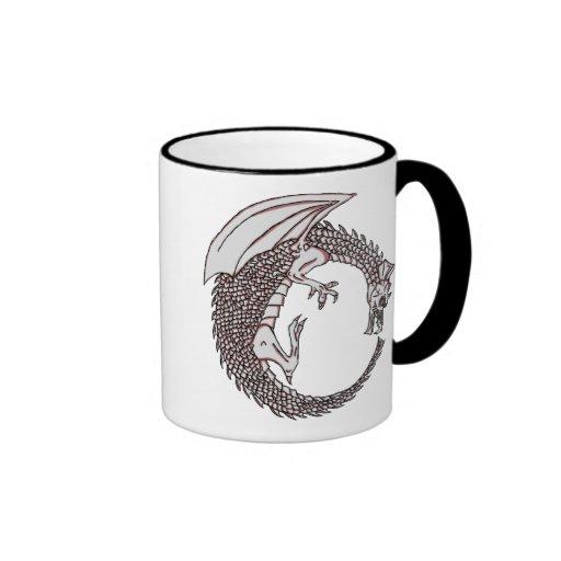 ¡Taza de café del dragón!