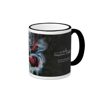 """¡Taza de café del """"ecocardiograma""""!"""