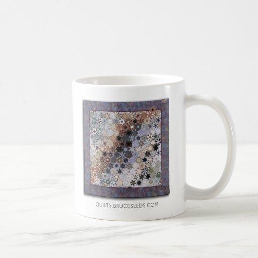 """Taza de café del edredón del arte - """"geológico """""""
