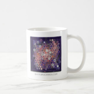 """Taza de café del edredón del arte - """"perdido en"""