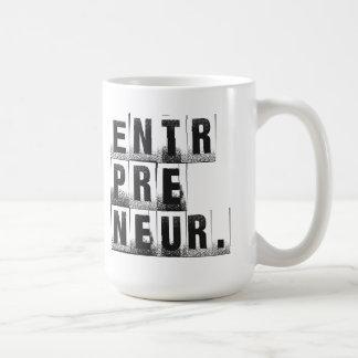 Taza de café del empresario
