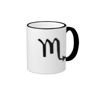Taza de café del escorpión