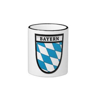 Taza de café del escudo de armas de Baviera