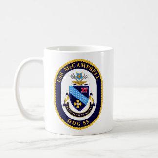 Taza de café del escudo de McCAMPBELL
