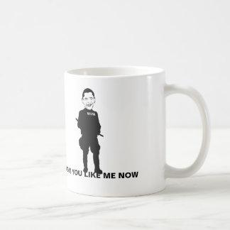 Taza de café del estado policial de Obama, cómo