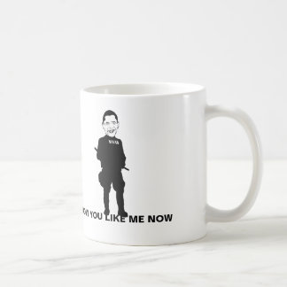 Taza de café del estado policial de Obama, cómo us