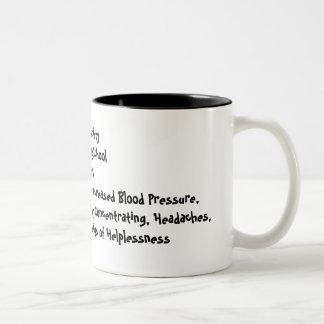 Taza de café del estudiante del oficio de