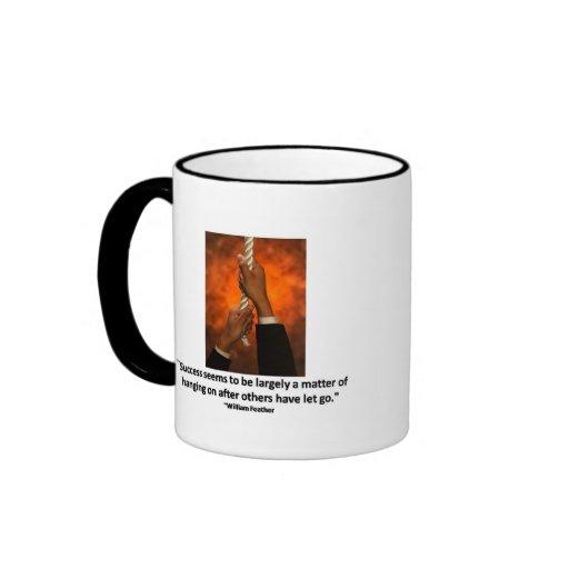 Taza de café del éxito