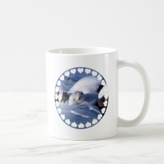 Taza de café del Fox ártico