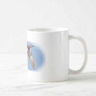 Taza de café del gadwell de la caza del pato