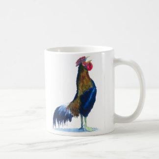 Taza de café del gallo