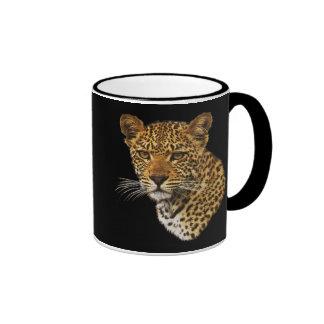 Taza de café del gato del guepardo