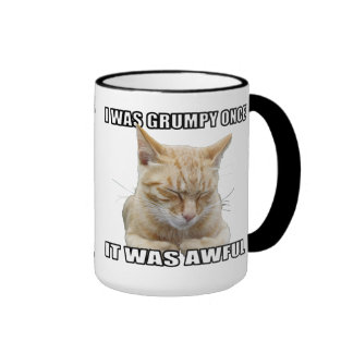Taza de café del gato del zen