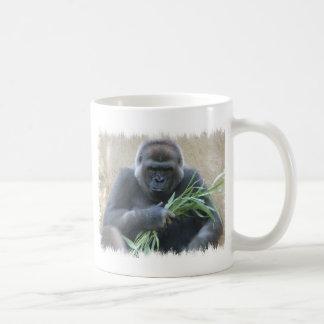 Taza de café del gorila del Silverback