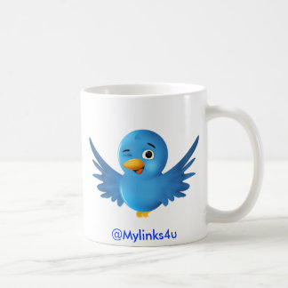 Taza de café del gorjeo