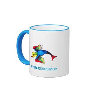 Taza de café del gorrión