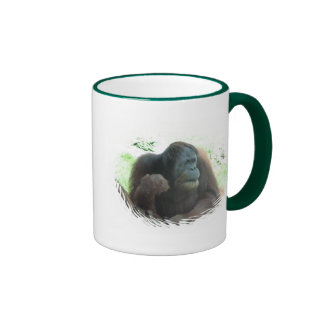 Taza de café del gran mono