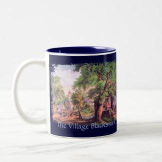 Taza de café del herrero del pueblo