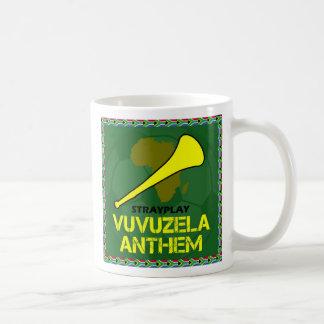 Taza de café del himno de Vuvuzela