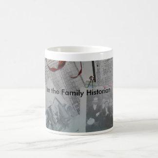 Taza de café del historiador de la familia