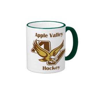 Taza de café del hockey del sistema de pesos ameri
