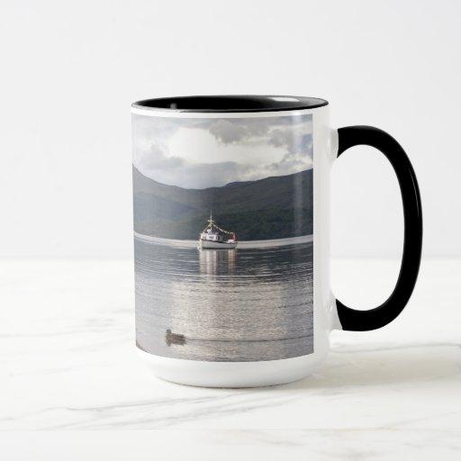 Taza de café del horizonte de Escocia