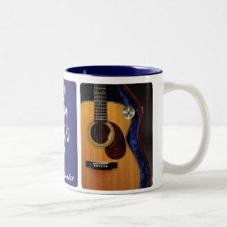 Taza de café del Humidor de la guitarra