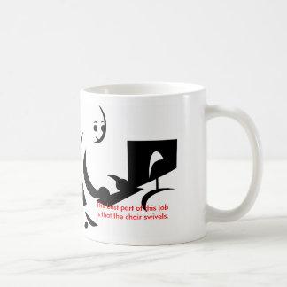 Taza de café del humor de la oficina: Taza diverti