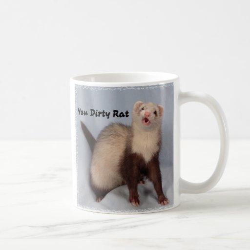 Taza de café del hurón