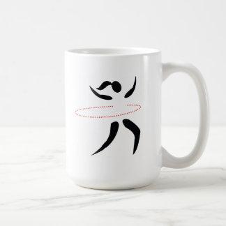 Taza de café del instructor del aro