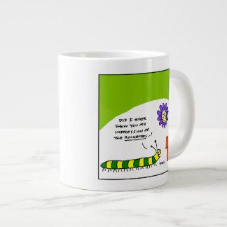 Taza de café del jardinero de Caterpillar del Taza Grande