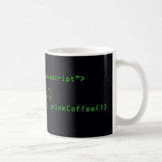 Taza de café del Javascript