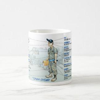 Taza de café del jefe de equipo C-130 11Oz