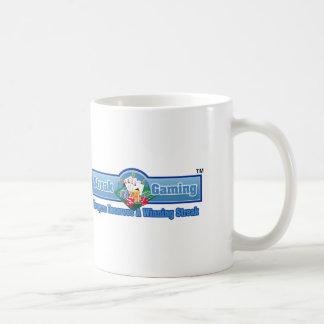 Taza de café del juego de la raya taza básica blanca