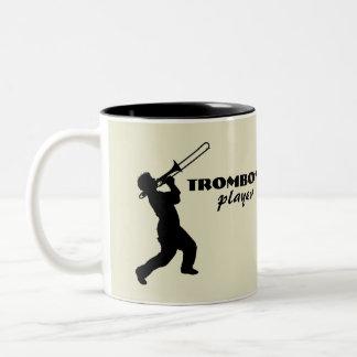 Taza de café del jugador de Trombone