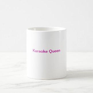 Taza de café del Karaoke