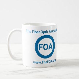 Taza de café del logotipo de la FOA