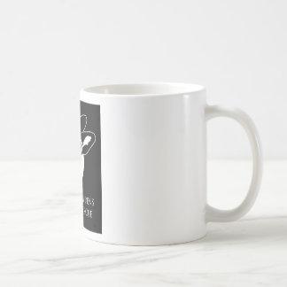 Taza de café del logotipo de MHRR