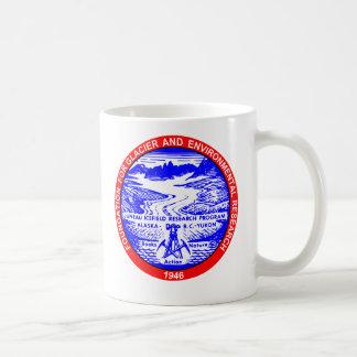 Taza de café del logotipo del color de JIRP