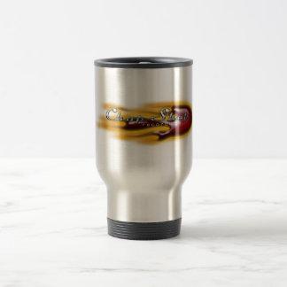 Taza de café del logotipo del desguace, Copyright