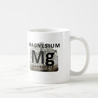 Taza de café del magnesio del elemento de la