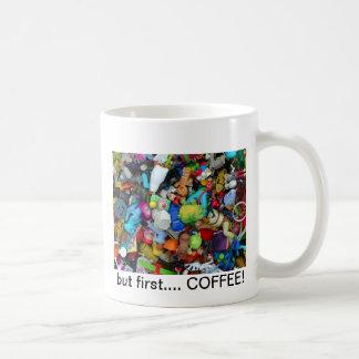 taza de café del managerie del juguete